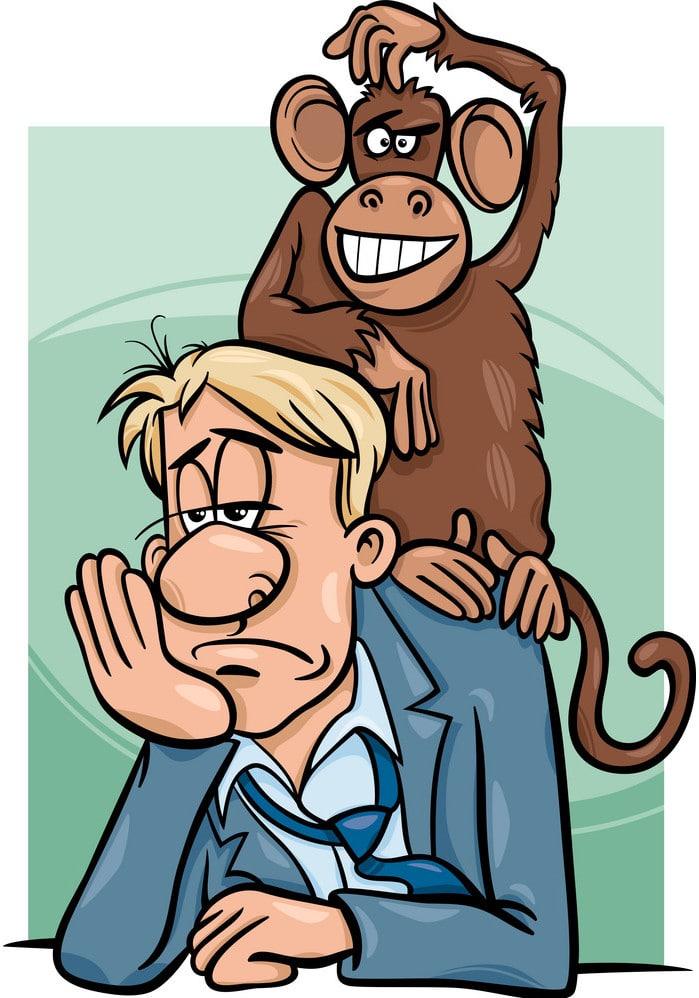 onde está o macaco